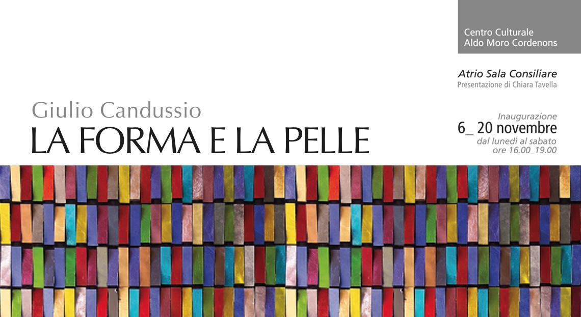 Monica Candussio - LA FORMA E LA PELLE